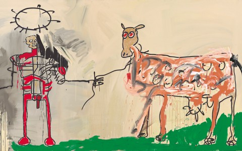 Jean-Michel Basquiat, The field next to the other door