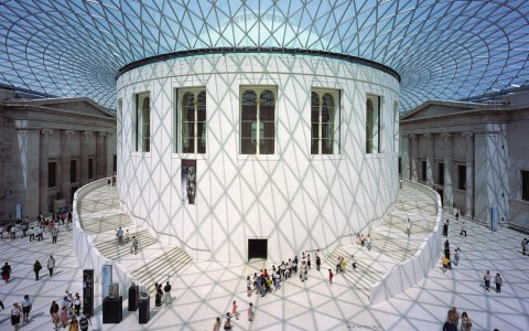 La hall del British Museum disegnata da Foster and Partners