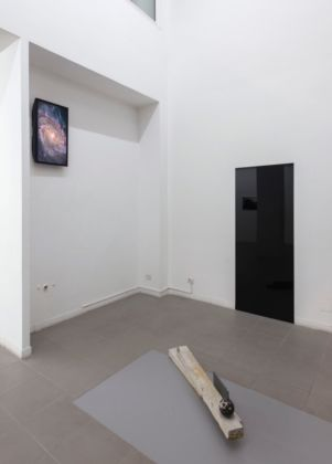 Marco Strappato, Untitled (Galaxy, Gate, Ground), 2015 - courtesy The Gallery Apart, Roma