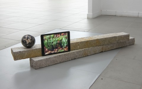 Marco Strappato, Untitled (Ground), 2015 - courtesy The Gallery Apart, Roma