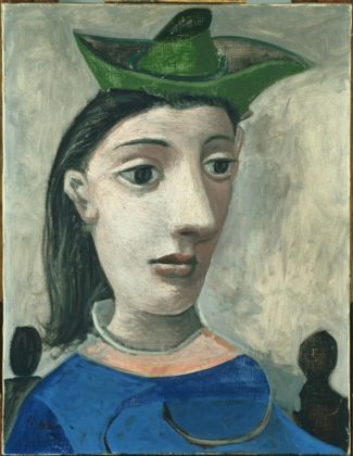 Pablo Picasso, Donna con cappello verde, 1939 - olio su tela - Phillips Collection, Washington
