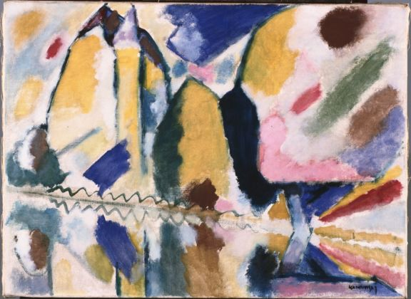 Vassily Kandinsky, Autunno II, 1912 - olio su tela - Phillips Collection, Washington
