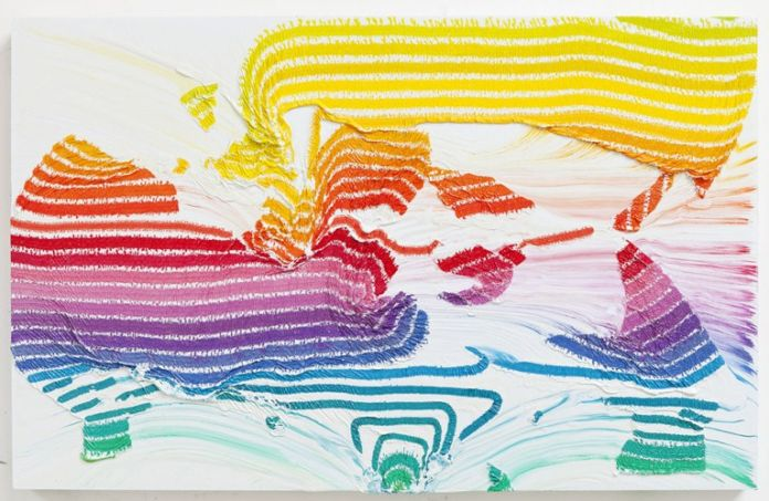 Alexis Harding, Colour Chart (Panoramic), 2011