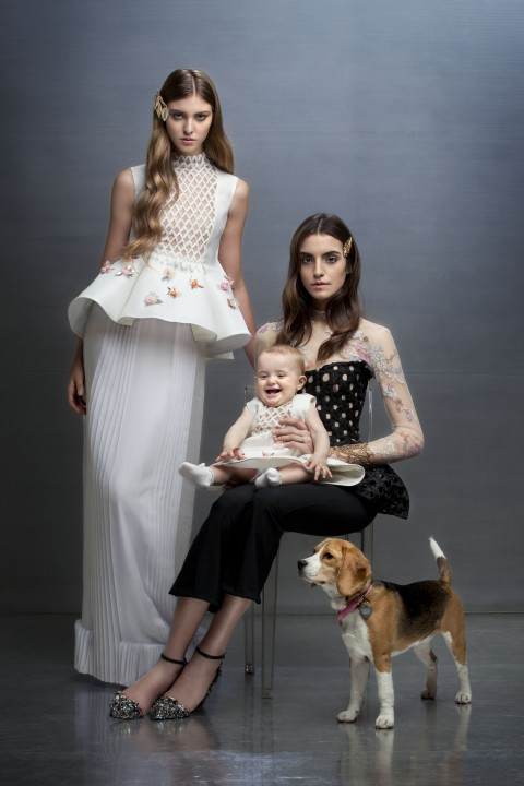 Altaroma - Family Couture Day - Gattinoni SS 2016 - photo Antonio Barrella