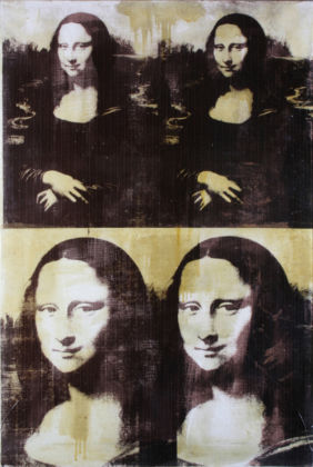 Andy Warhol, Mona Lisa Four Times, 1979