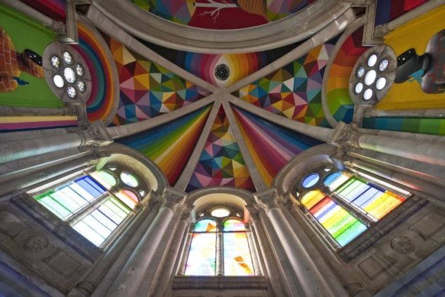 Okuda San Miguel, Kaos Temple, 2015 (photo by and courtesy of Elchino Pomares)