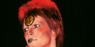 David Bowie, fotografia tratta dal libro di Mick Rock, The Rise of David Bowie 1972–1973, Taschen