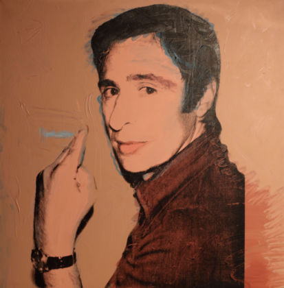 Andy Warhol, Portrait of Giuliano Gori, 1974-2