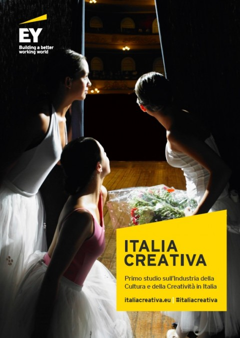 Italia Creativa - la cover dello studio