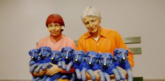 Jeff Koons, String of Puppies, 1988