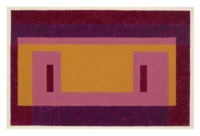 Josef Albers, Variant-Adobe. Familiar Front, 1948 - Josef and Anni Albers Foundation