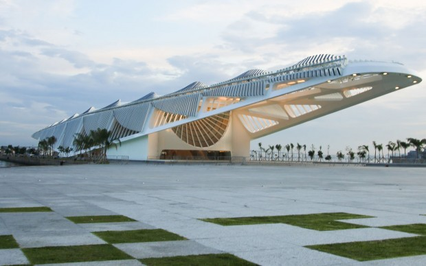 Museu do Amanhã, Courtesy Santiago Calatrava Architects, via The Architect's Newspaper