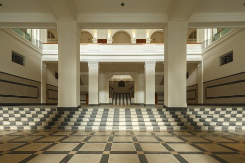 National Gallery, Singapore - Supreme Cort foyer - photo Darren Soh