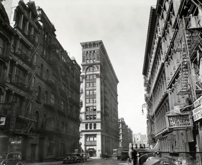 New York Public Library - Digital Collections, Berenice Abbott, Manhattan, New York, 1935