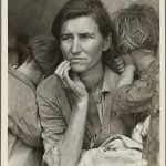 New York Public Library - Digital Collections, Dorothea Lange, Destitute pea pickers in California. Mother of seven children. Age thirty-two. Nipomo, California, 1936