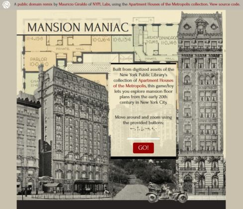 New York Public Library - Digital Collections, Mansion Maniac