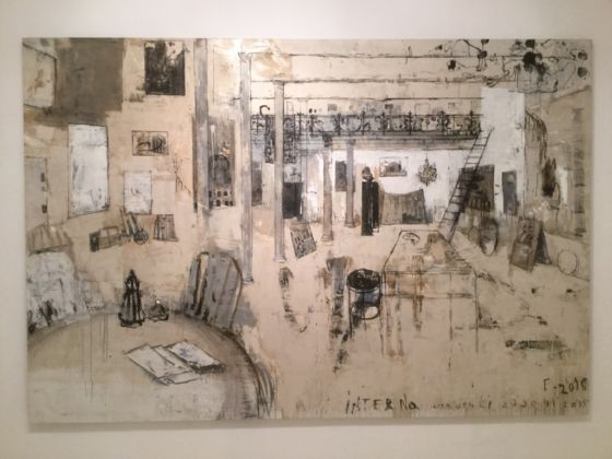 Piero Pizzi Cannella, Interno, 2015