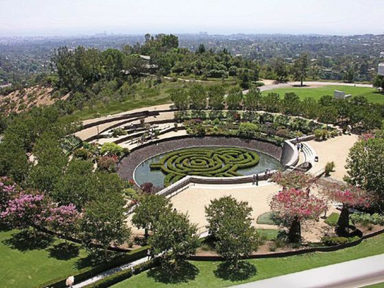Robert Irwin, Central Garden – Getty Museum, Los Angeles – photo © Hal Beral-Corbis