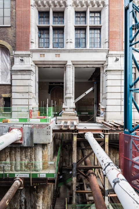 V&A, Londra, cantiere - Copyright & Credit Stephen P Citrone