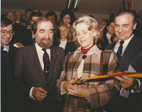 Arco Madrid - inaugurazione dell'edizione del 1982
