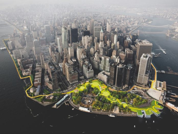 Bjarke Ingels Group & One Architecture, The Dryline, New York