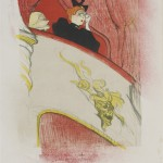 Henri de Toulouse-Lautrec, The Theatre Box with the Gilded Mask, 1893 - Budapest, Galleria Nazionale