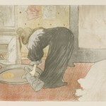 Henri de Toulouse-Lautrec, Woman at the Tub, 1896 - Budapest, Galleria Nazionale
