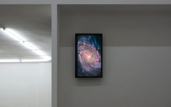 Marco Strappato, Untitled (Galaxy), 2015 - courtesy The Gallery Apart, Roma