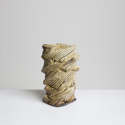 Shozo Michikawa, Natural Ash Sculptural Form, grès, 2015