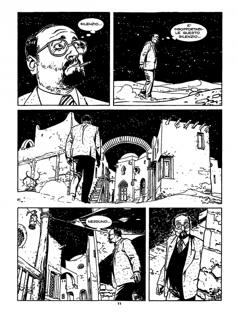 Umberto Eco in Dylan Dog