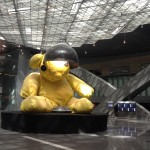 Urs Fischer, Untitled Lamp-Bear, 2005-06 - Hamad International Airport, Doha - courtesy of Qatar Museums