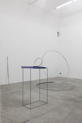 Alice Cattaneo – Un qui puntiforme unitissimo - installation view at Galleria CollicaliGreggi, Catania 2016
