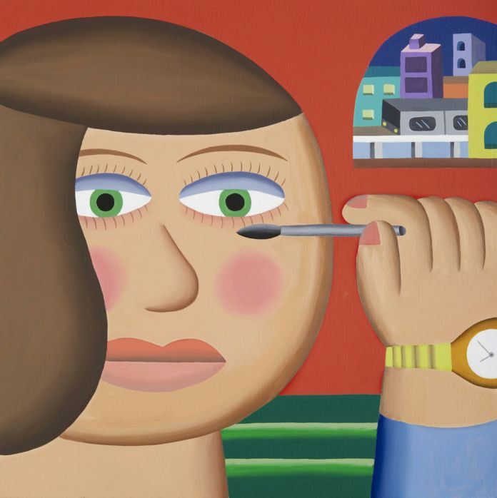 Andy Rementer, Mascara, 2015