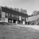 Claude Parent, Soultrait House, 1957 - photo Janet&Franck Beyda