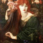Dante Gabriel Rossetti, La Ghirlandata, 1873 - Guildhall Art Gallery - photo Scala Florence Heritage Images