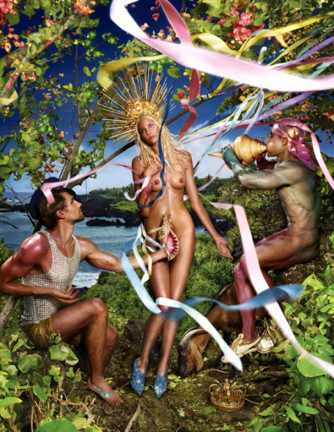David LaChapelle, Rebirth of Venus, 2009