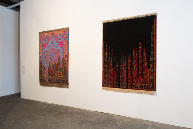 Faig Ahmed – Points of Perception - installation view at Macro Testaccio, Roma 2016 - photo Giovanni De Angelis