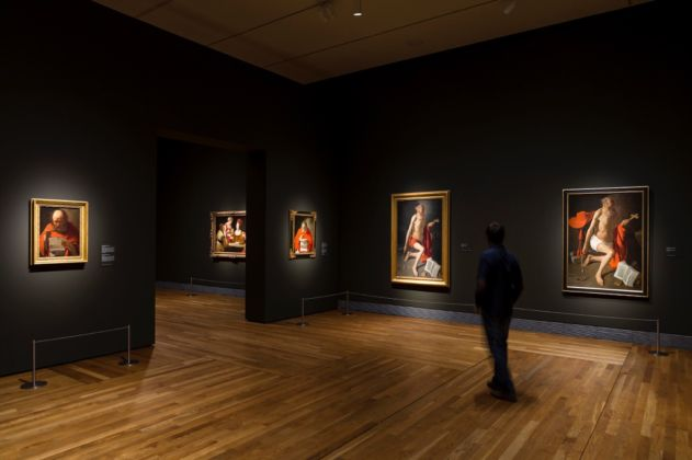 Georges de la Tour - installation view at Museo del Prado, Madrid 2016