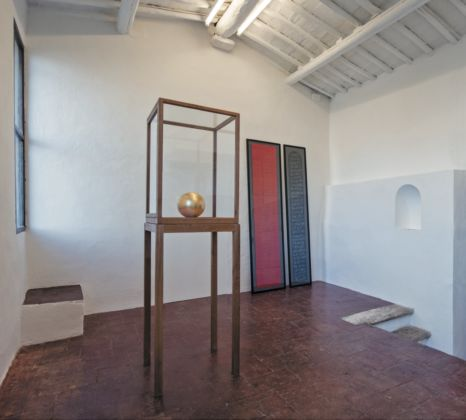 Maurizio Nannucci featuring James Lee Byars - Museo d'Inverno, Siena 2016
