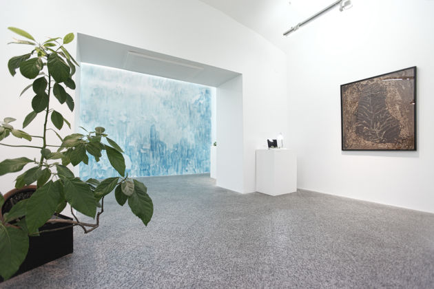 Michel Blazy – Living Room - installation view at Museo MAN, Nuoro 2016