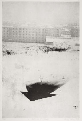 Rudolf Sikora, Time… Space XII, 1971 - courtesy dell'artista e AMT Project, Bratislava