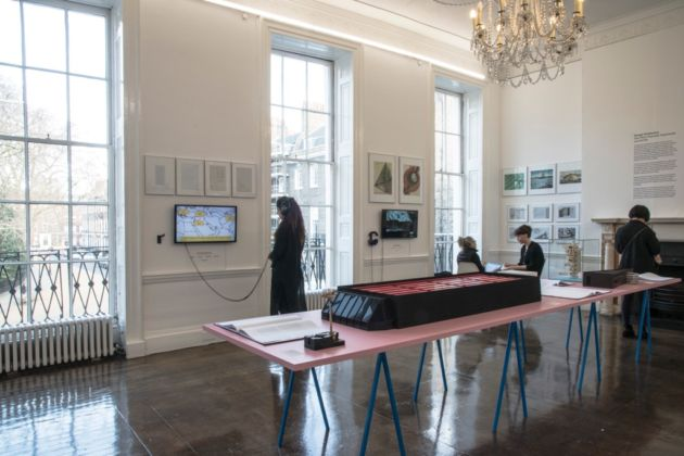 Savage Architecture - installation view at Architectural Association, Londra 2016 - © Sue Barr