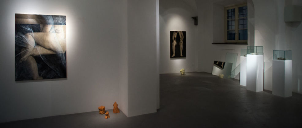 Tatiana Villani – Körperland – installation view at Galleria Passaggi, Pisa 2016 – photo Dania Gennai
