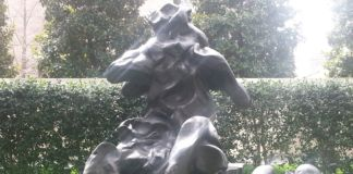 Willem de Kooning, Seated Woman, 1969 - photo Erin Hylton, The Nasher Center Sculpture Garden 2013