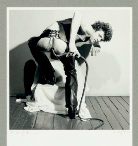 Robert Mapplethorpe, Autoritratto con frusta