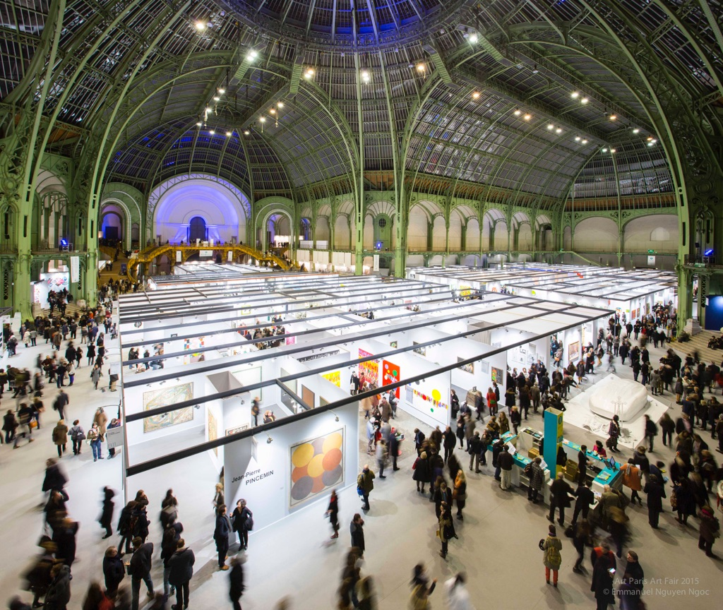Art Paris Art Fair 2015 - photo Emmanuel Nguyen Ngoc