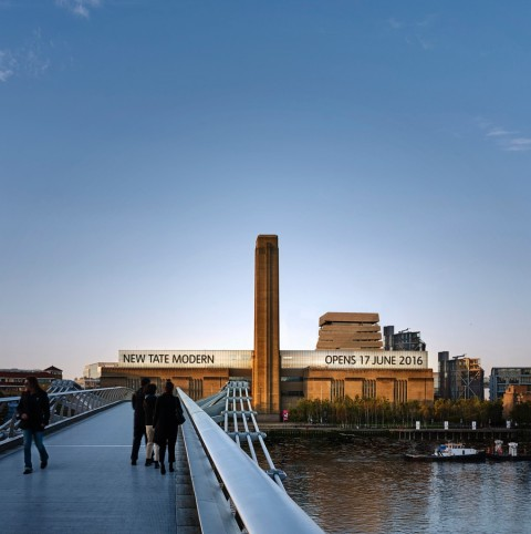 The new Tate Modern - © Hayes Davidson and Herzog & de Meuron