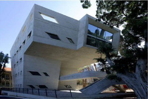 Zaha Hadid, Issam Fares Institute for Public Policy and International Affairs - Beirut