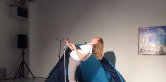 Bridget Moser, Sympathetic Parts - performance alla Galleria Artericambi, Verona 2016