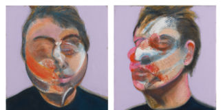 Francis Bacon, Two Studies for a Self-Portrait, 1970